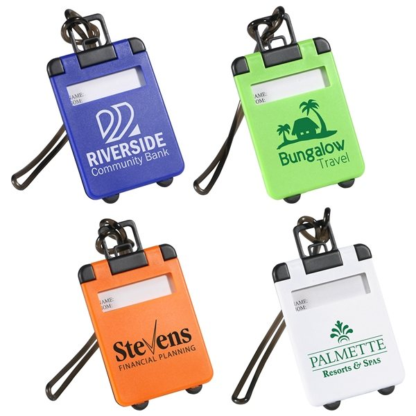 Promotional Travel Tote Luggage Tag