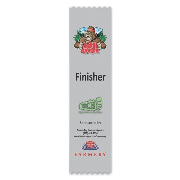 Promotional Full Color Ribbon - 2 x 8