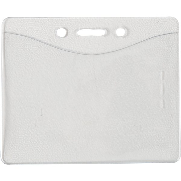 Promotional 3 X 3-3/4 Vinyl Badge Pouch - Blank