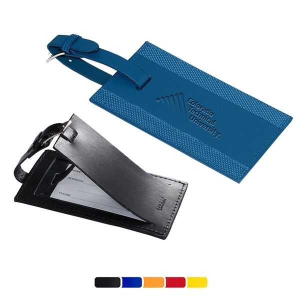 Promotional Majestic Leather Luggage Tag