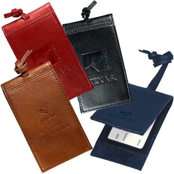 Promotional Voyager Magnetic Luggage Tag