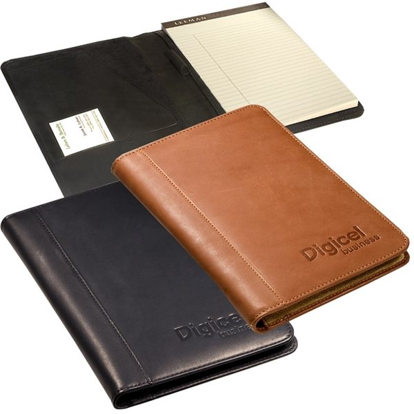 Promotional Harrison Portfolio Junior (Sueded Full - Grain Leather)