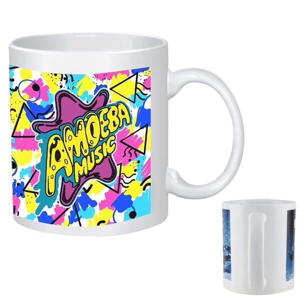 Promotional Full Color Stoneware Mug - 11oz
