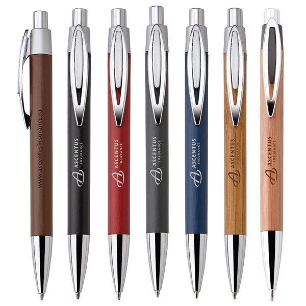 Asia Bamboo Ballpoint Pen Event Giveaways Pens