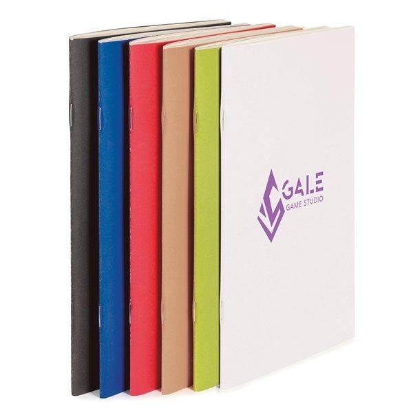 Promotional ECO Saddle - Stitched ECO Notebook