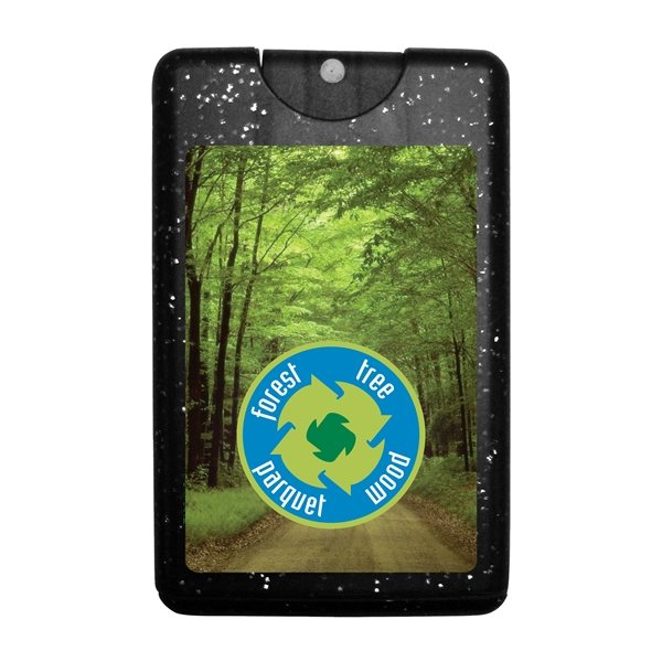 Promotional Sparkle / Bling Credit Card Antibacterial Hand Sanitizer