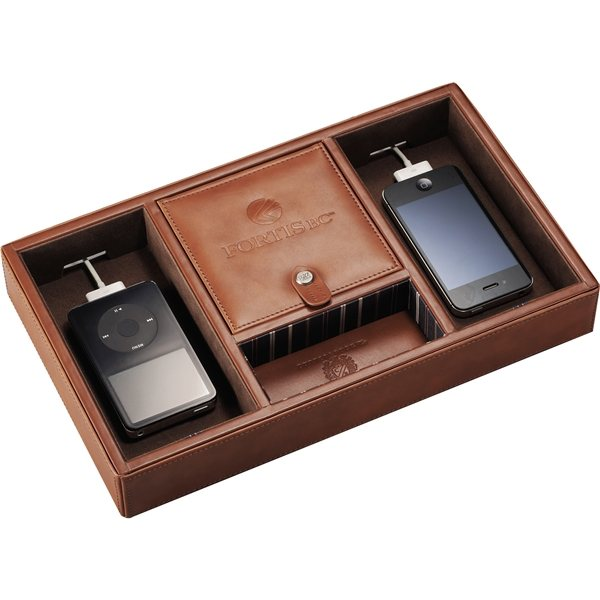 Promotional Cutter Buck Legacy Valet and Charging Station