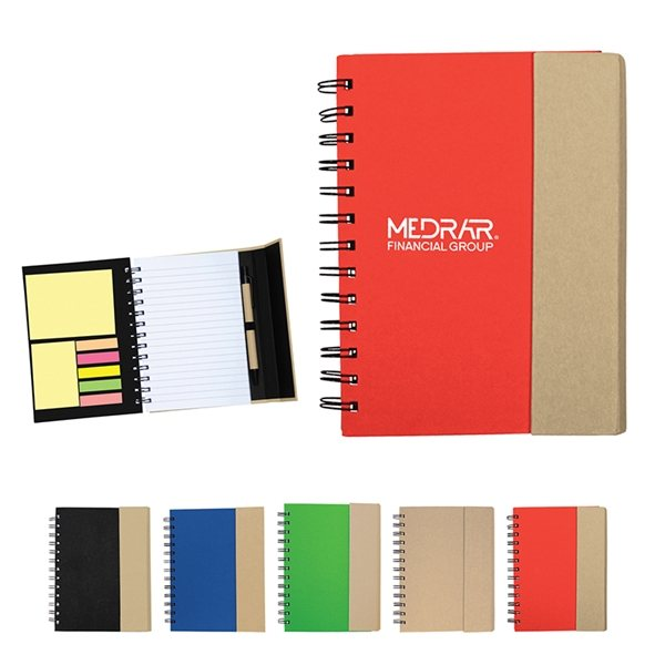 Promotional Recycled Magnetic Journalbook