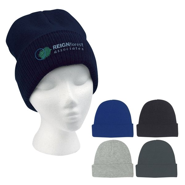 Promotional Knit Beanie With Cuff