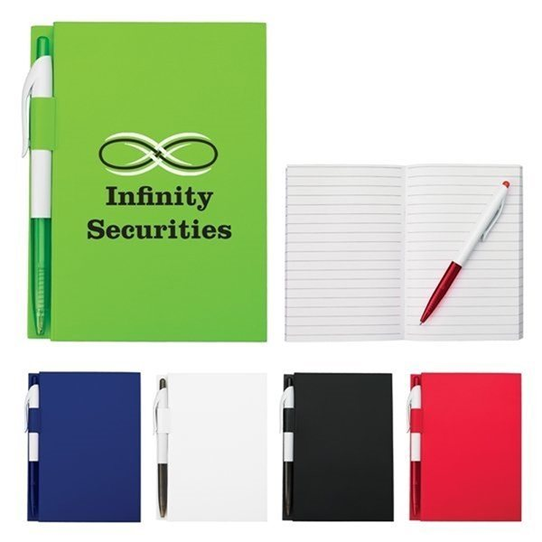 Promotional 4 X 6 Notebook With Pen