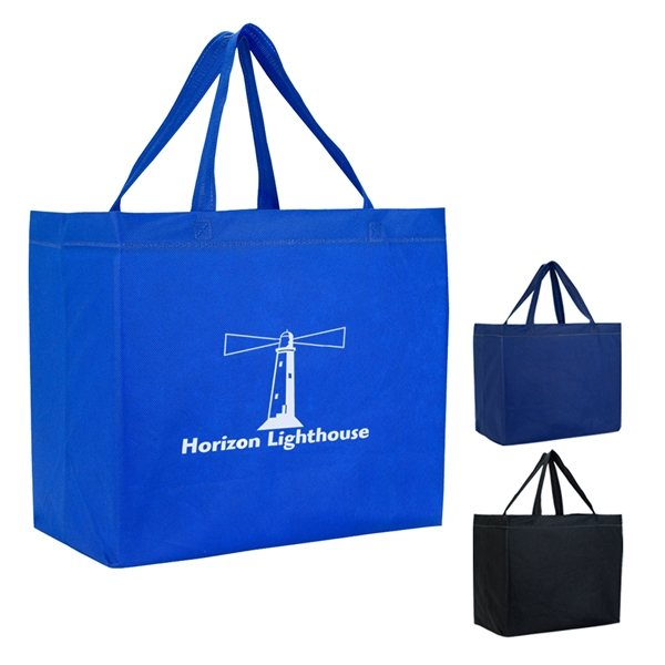 Promotional Heat Sealed Non - Woven Grande Tote Bag