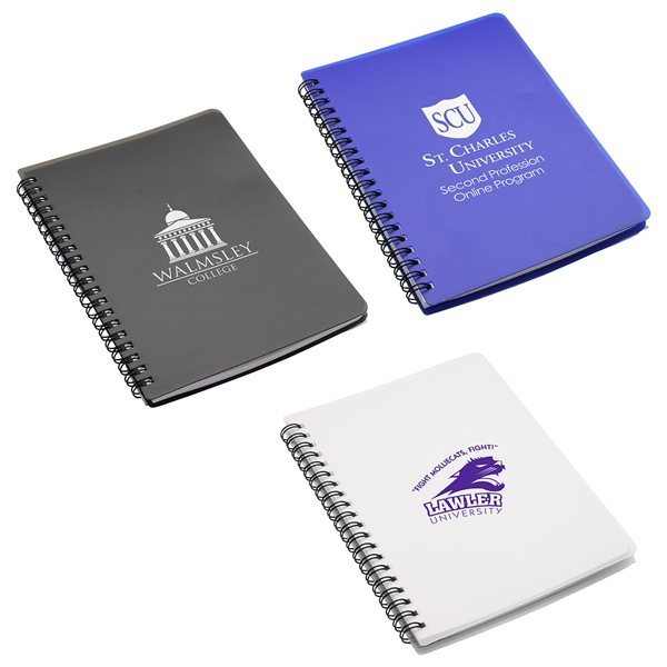 Promotional Hardcover Notebook With Pouch