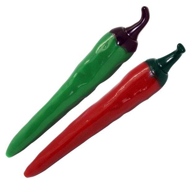 Promotional Green Jalapeo Red Chili Pepper Pen