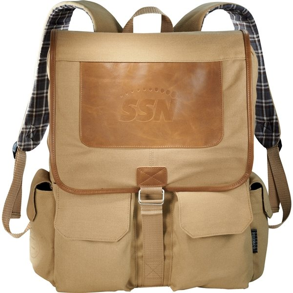 Promotional Field Co. Cambridge Collection Compu - Backpack