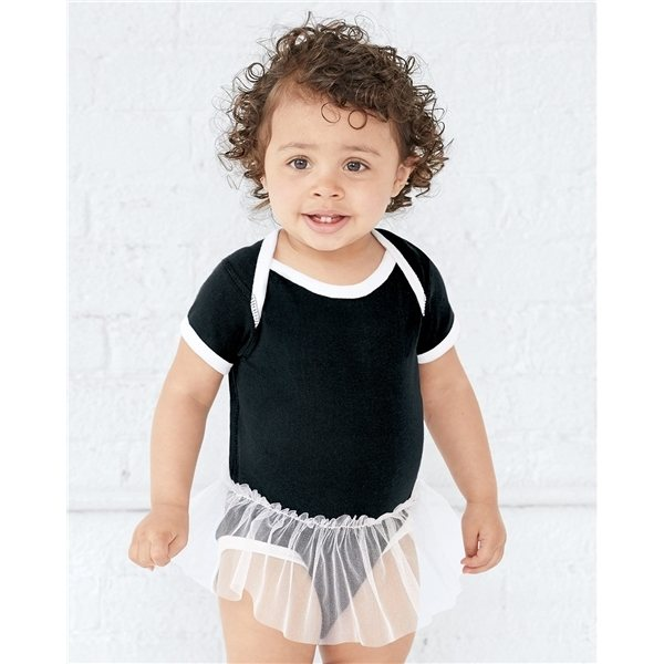 Promotional Rabbit Skins Infant Tutu Creeper