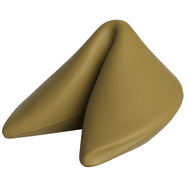 Promotional Fortune Cookie Squeezies Stress Reliever