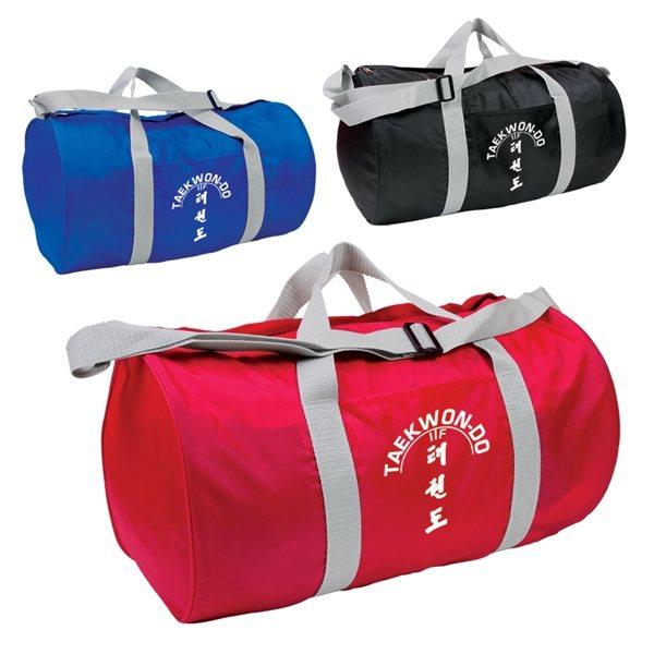 Promotional Budget Barrel Duffel Bag