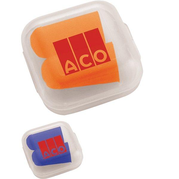 Promotional Ear Plugs in Case