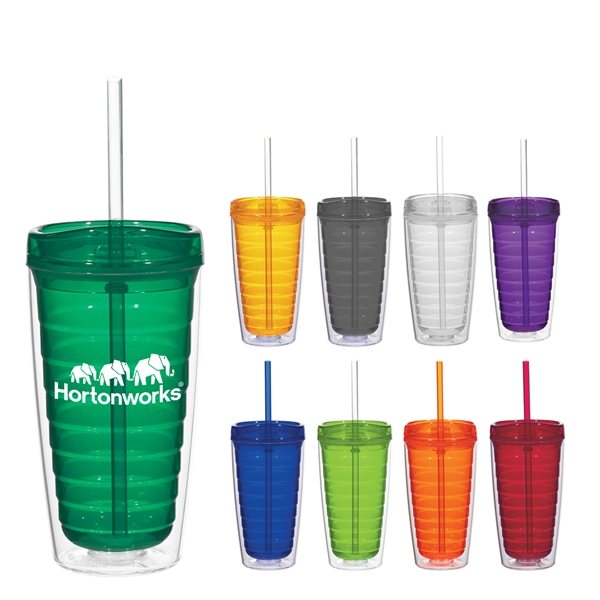 Promotional 16 oz Econo Double Wall Tumbler