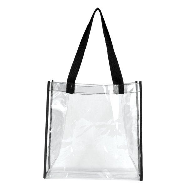 Clear Vinyl Stadium Compliant Tote Bag Corporate