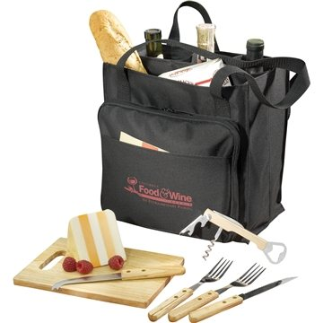 Promotional Modesto Picnic Carrier Set