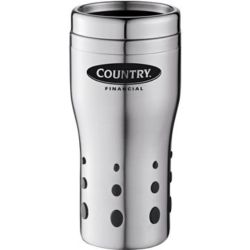 Promotional 16 oz Terrano Stainless Steel Double - Wall Tumbler