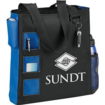 Promotional square-convention-tote