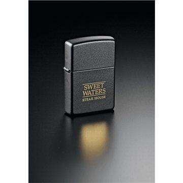 Promotional Zippo(R) Windproof Lighter Black Matte