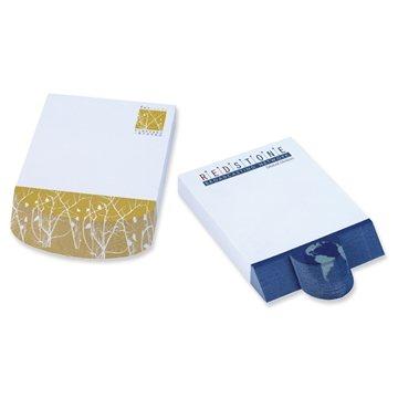 Promotional BIC(R) 4 x 6 Adhesive Beveled Notepad