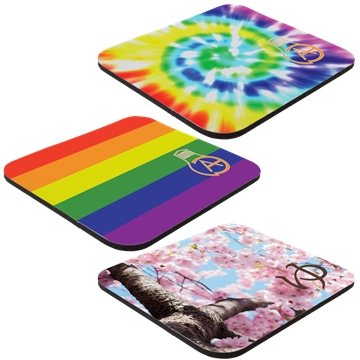 Promotional 7 x 8 x 1/8 Full Color Hard Surface Mouse Pad
