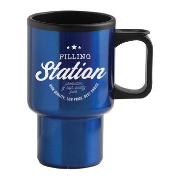 Promotional 14 oz Economy Stainless Steel Mug