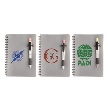 Promotional Silver Pen Highlighter Combo