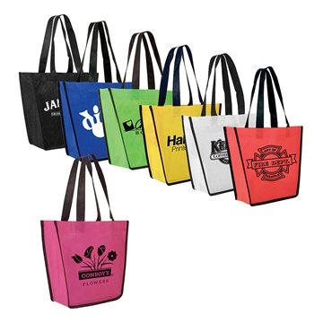 Promotional Non - Woven Fiesta Tote Bag
