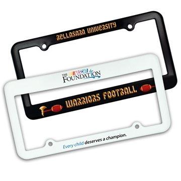 Promotional License Plate Frame - 2 Holes, Full Color Digital