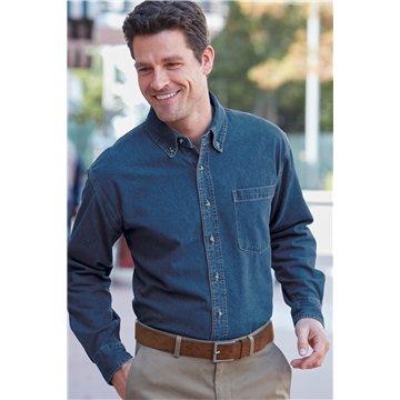 Promotional Port Authority Heavyweight Denim Shirt