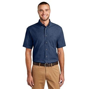 Promotional Port Company Short Sleeve Value Denim Shirt