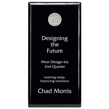 Promotional Black Plaque - 6 x 12