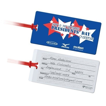 Promotional Jumbo Size Slip - In ID Luggage Tag