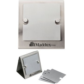 Promotional flaques-6-coaster-set-stand