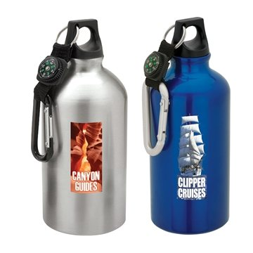Promotional 16.9 oz Flask with Carabiner