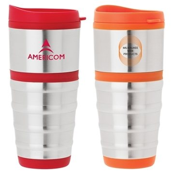 Promotional Anillo - 16 oz Steel PP Tumbler