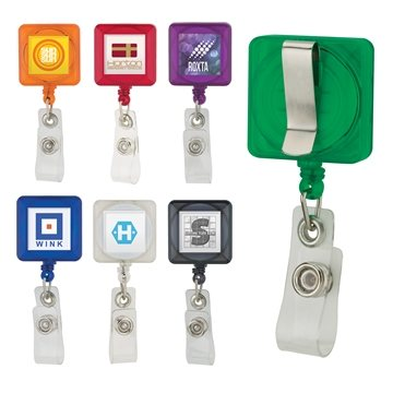 Promotional badge-holder-with-clip