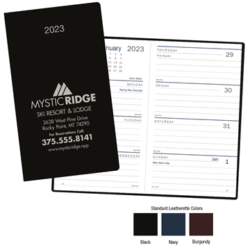 Promotional Standard Weekly Pocket Planner - Triumph(R) Calendars