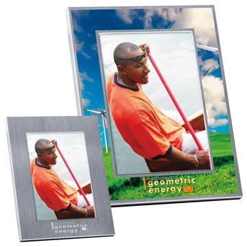 Promotional 5 x 7 Basic Brushed Matte Aluminum Frame
