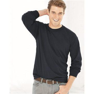 Promotional Bayside Long Sleeve T - shirt