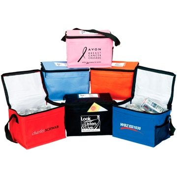 Promotional bedford-6-pack-insulated-cooler
