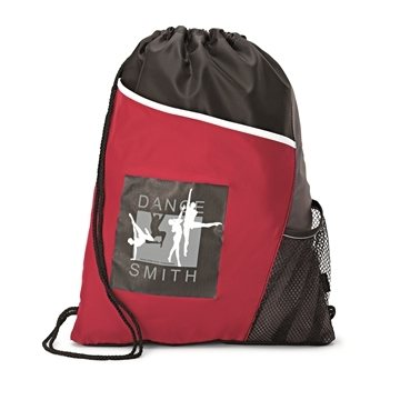 Promotional Polyester Multi Color Surge Sport Cinch Bag 14X 17.5