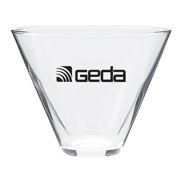 Promotional 13.5 oz Vina Stemless Martini - clear