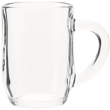 Promotional 10 oz Haworth mug - clear