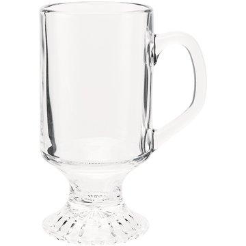 Promotional 10 oz Irish Coffee mug - clear